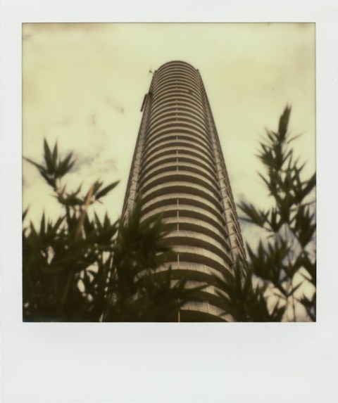Museum Tower - Dallas, TX - Impossible Project PX-70 V4B - SX-70