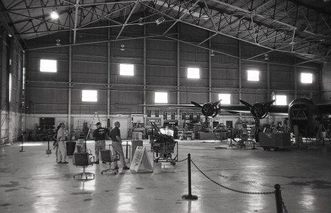 Cavanaugh Flight Museum - Olympus XA - Ilford HP5 Plus @ 800