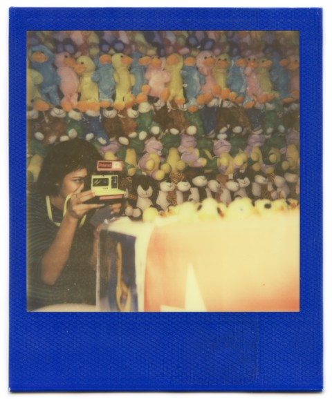 Photo: Amber Minnerick - Polaroid One Step - Impossible Project PX-680 Rainbow Frame