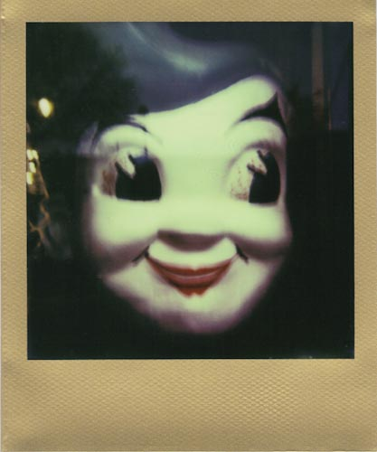 Photo: Kyle Vaughn - Impossible Project PX-680 Gold Frame