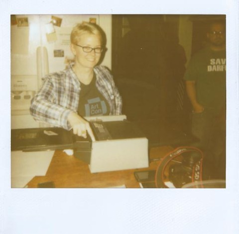 Photo: Tyler Tyndell - Polaroid 1200 Cinema Film