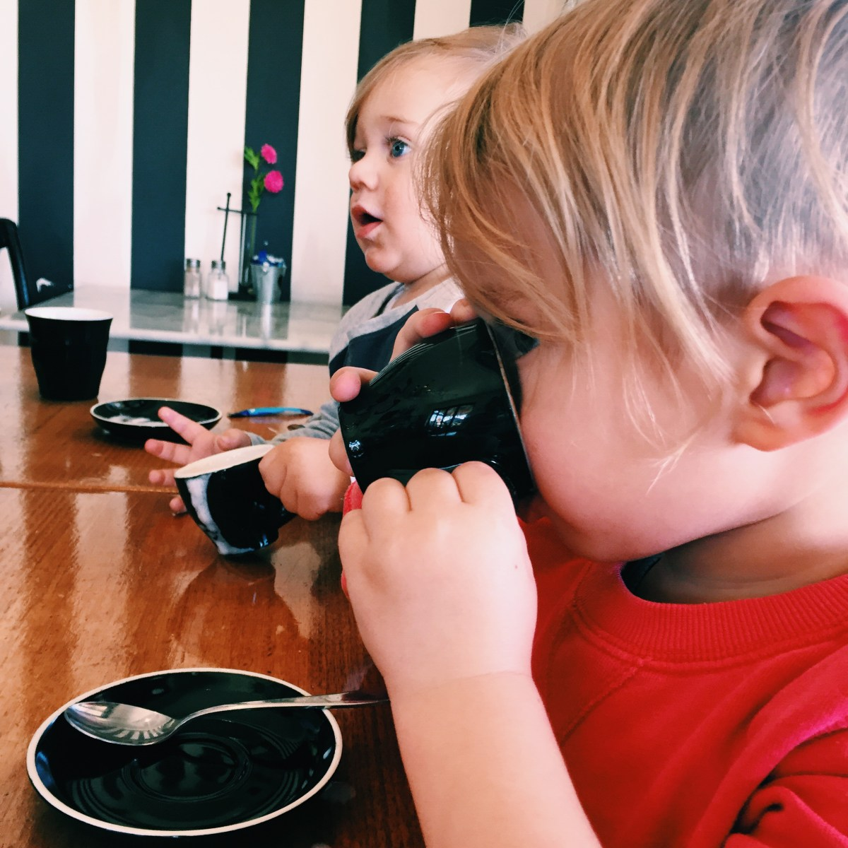 Motherhood: finding your caffeinated people {and acceptance of babycinos}