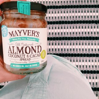 Mayver's almond, coconut and cacao spread