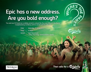 eDM - Carlsberg Where's the Party Teaser