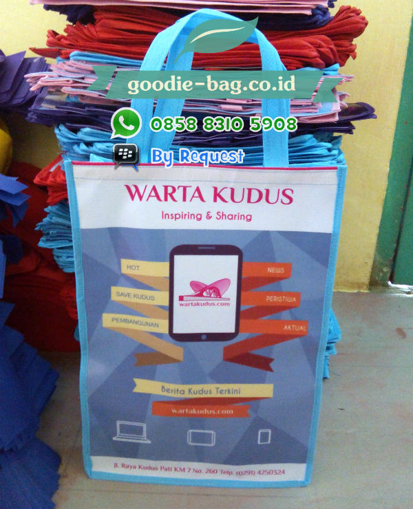 Tas souvenir Promosi Media On Line