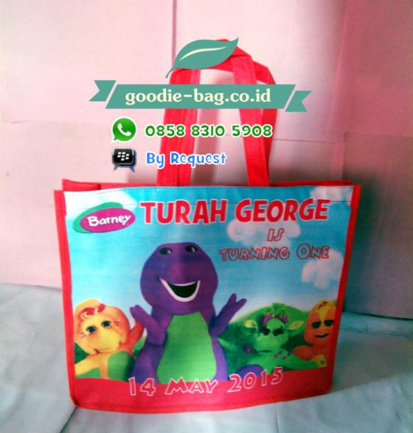 Tas Souvenir Ulang Tahun Barney