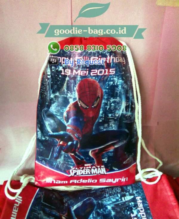 Tas Ultah Anak Murah Spiderman
