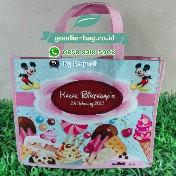 goodie bag ulang tahun mickey mouse