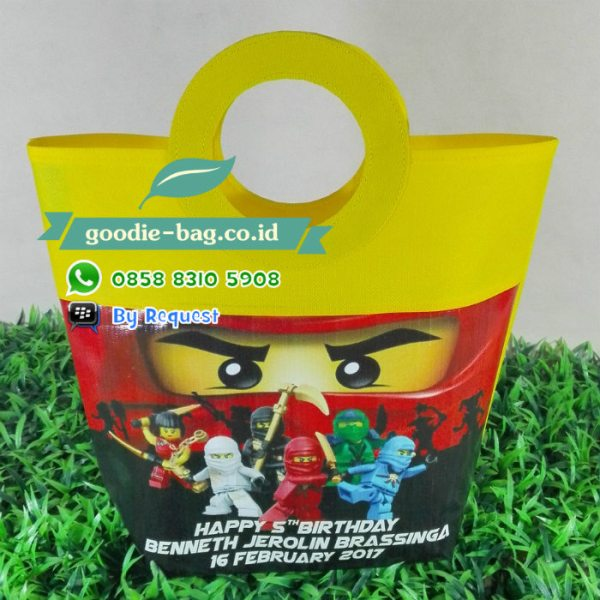 goodie bag ultah ninjago lego