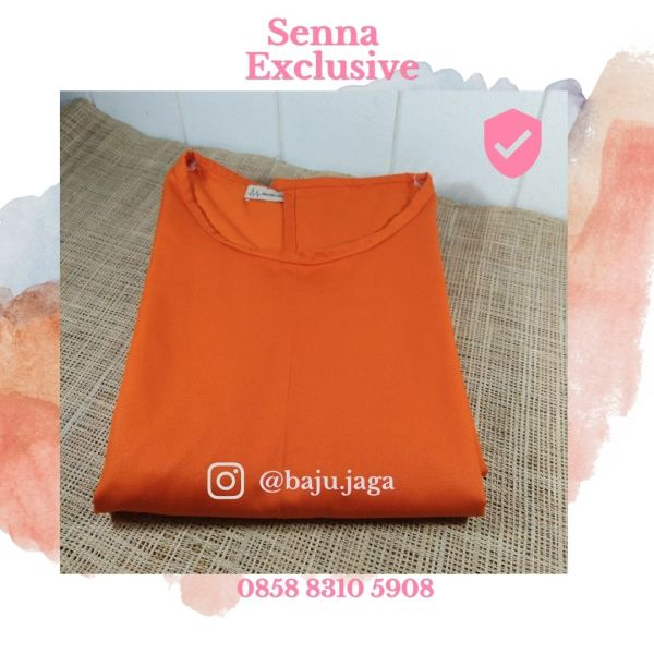 APD Gown Drill Orange