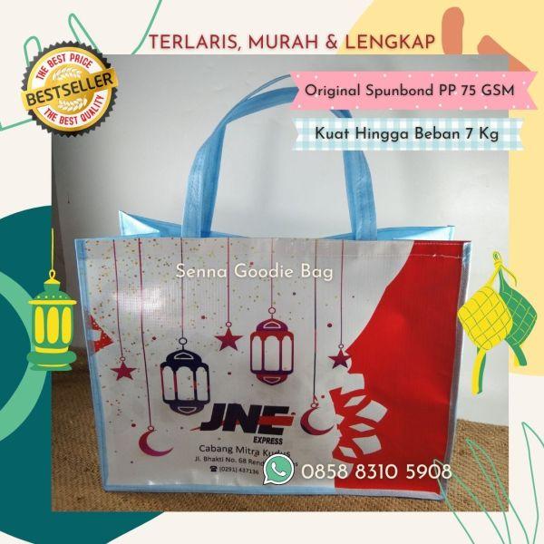 Tas Parcel Lebaran Custom Jakarta JNE