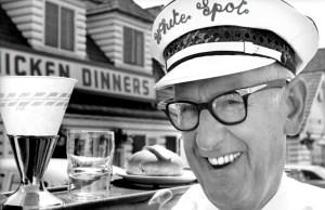 WHITE SPOT - White Spot founder Nat Bailey circa 1960s