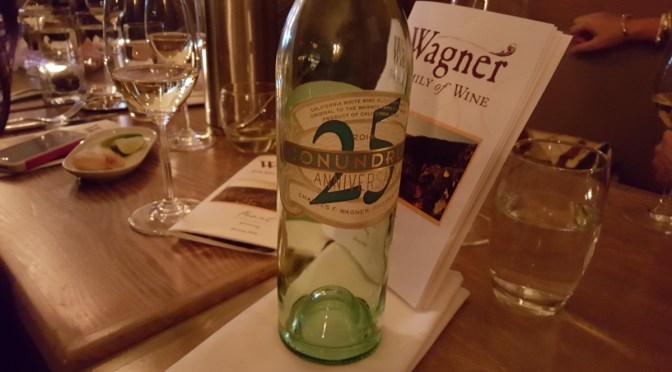 Feast Wine Dinner Wagner Wines