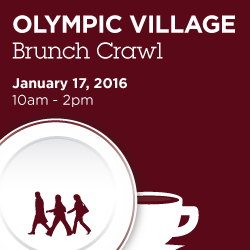 Olympic Village Brunch Crawl
