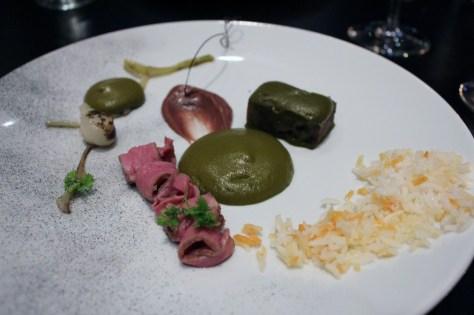 Ghormeh Sabzi Lamb, red bean, parsley, stone dry lime, basmati rice