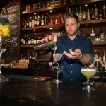 grant sceney presenting the smoked pineapple martini 2