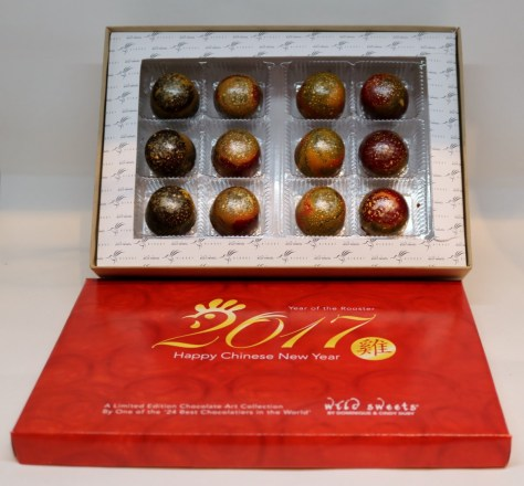 Year of The Rooster Chocolate Art Collections