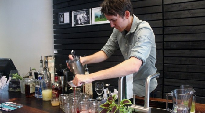 Guy Stowell Mixes Up Cocktails MadeWithLove