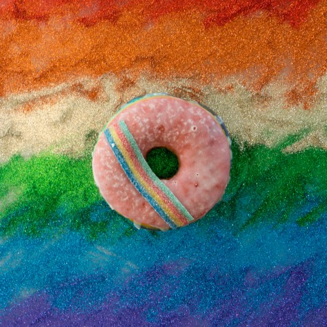 lucky's layers of pride doughnut 2 (photo credit lucky's doughnuts)