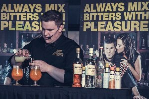 Shane Mulvany Cocktail Mixing