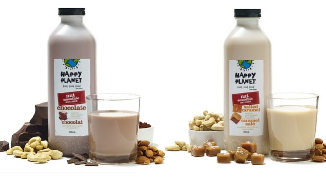 Happy Mornings with Happy Planet's Nut Smoothies