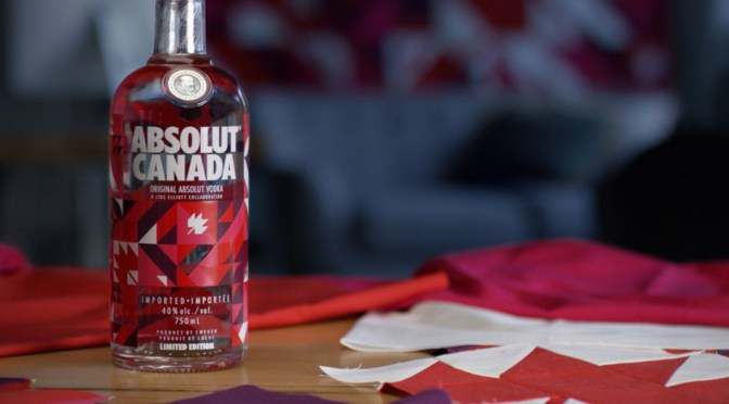 Absolut Vodka Canada Day Cocktails