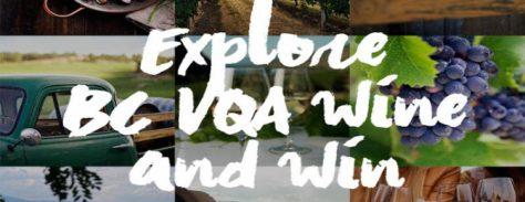 explore bc wine