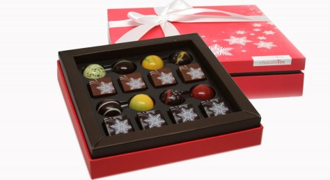 chocolatas holiday gift box