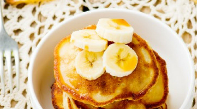Banana Chocolate Chip Pancakes – Ashley Freeman Nutrition