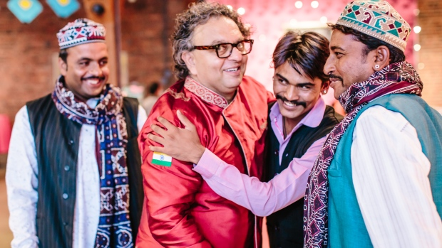 vikram vij at indian summer festival
