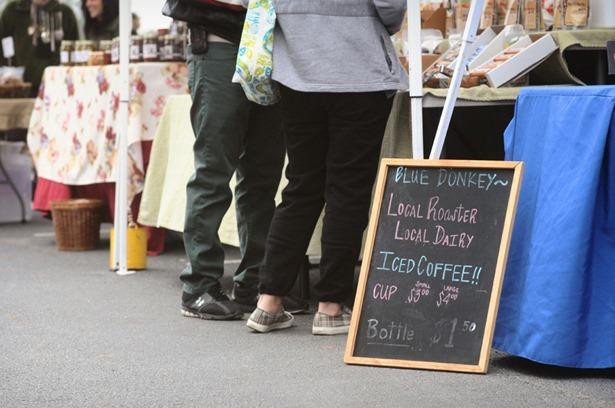 farmers market coffee