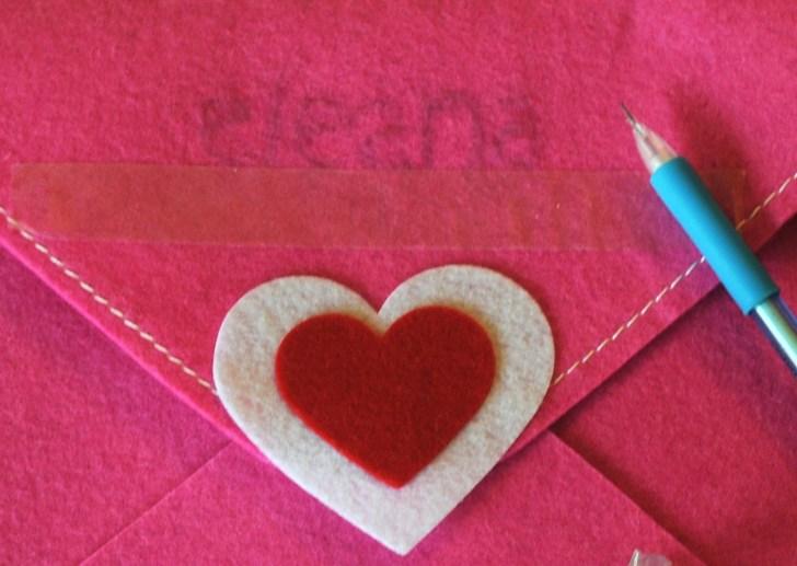 target felt envlopes valentine pbk pottery barn kids knock off valentines diy 2015 kid pink red grey white dollar one spot shop $1