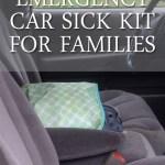 Car Emergency Sick Kid Kit