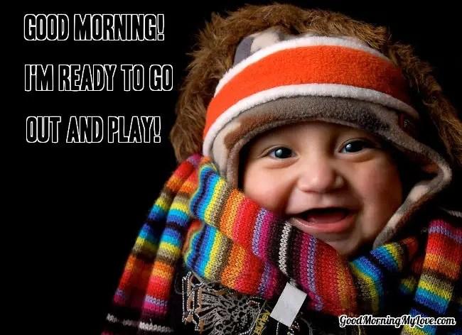 Baby Cute Good Morning Memes