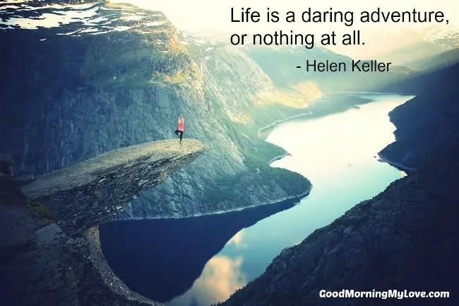 Good Morning Thoughts Helen Keller