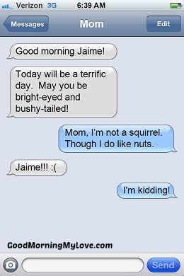 Funny Good Morning Messages_FunnyText Messages 8