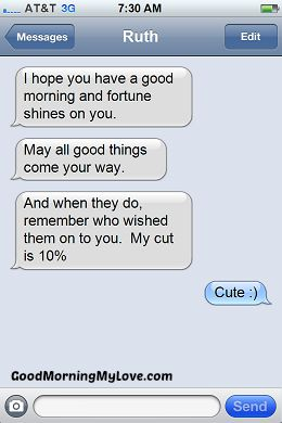 Funny Good Morning Messages_FunnyText Messages 9