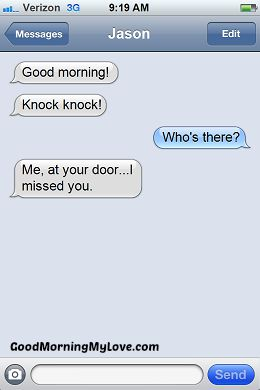 Cute Good Morning sms messages_Funny Good Morning sms Messages 3