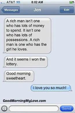 Good Morning Love sms_Romantic Good Morning sms 2