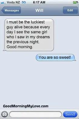 Good Morning Love sms_Romantic Good Morning sms 6