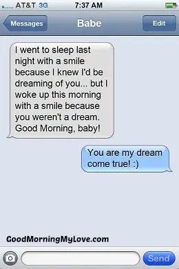 Good Morning Love sms_Romantic Good Morning sms 7