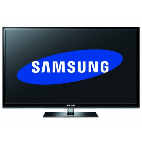 Samsung PS43E490 43-inch Widescreen 3D Plasma TV with Freeview and 2 pairs of 3D glasses