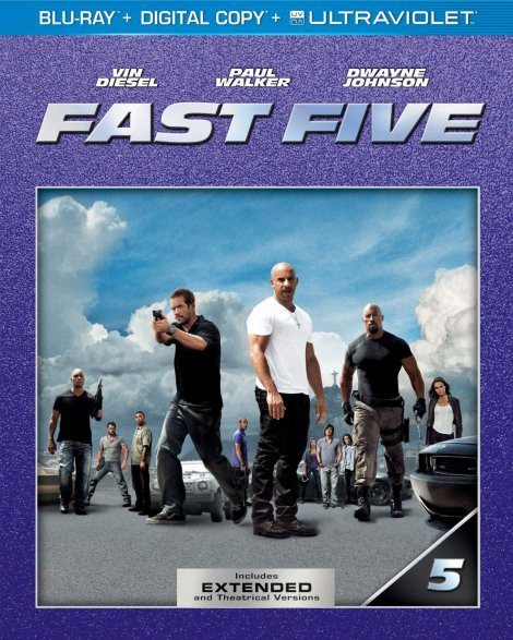 Fast Five Extended Edition Blu-ray