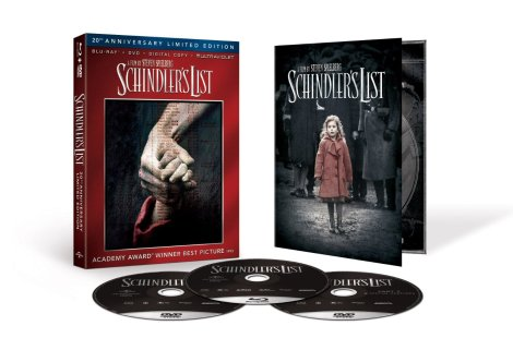 Schindlers List Blu-ray US Box Set