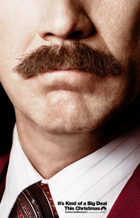 Anchorman The Legend Continues Teaser Poster