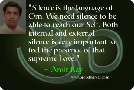 Daily Inspirational Quote by Amit Ray