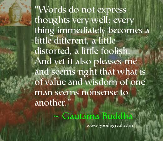 Daily Inspirational Quote by Gautama Buddha