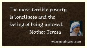 Mother Teresa GoodNGreat Quotes
