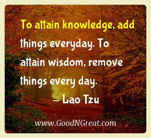 lao tzu inspirational quotes to attain knowledge add