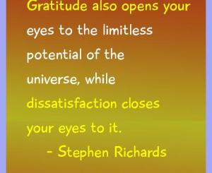 Stephen Richards Gratitude Quotes